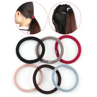 Elastic Tie Rope Headband Rubber Hairband Lady Hair Band Ponytail Holder