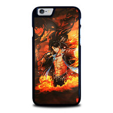 ONE PIECE ACE iPhone 5 5S 6 6S 7 8 PLUS X XR XS 11 Pro Max Phone Case Cover