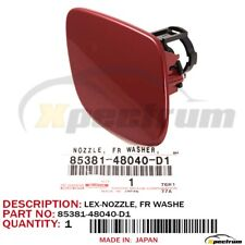 04-09 OEM Lexus RX330 RX350 Front Bumper Washer Nozzle Cover Red Cap Right 05 06