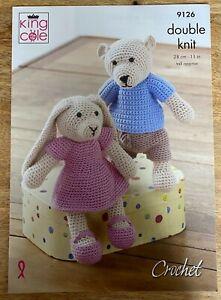 Dora Duck Easy Toy Crochet Kit Set inc DK Robin Wool Pattern Hook Needle