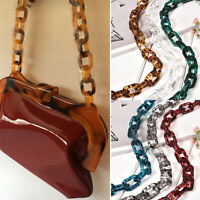 Resin Chain Replacement Handle Shoulder Crossbody Handbag Bag Strap Accessories