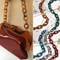 Resin Chain Replacement Handle Shoulder Crossbody Handbag Bag Strap Accessories