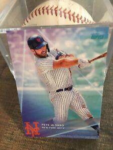 Topps 2020 X Steve Aoki Wave 3 New York Mets 1st Baseman Pete Alonso LIMITED!!