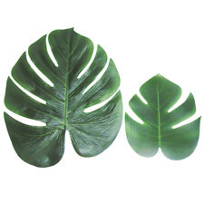 12pack Home Party Artificial Tropical Palm Leaves Simulation Leaf