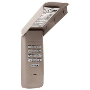877MAX USED Liftmaster Keyless Entry Keypad 377LM 977LM Sears for 315mh 390mhz