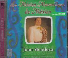 Juan Mendoza La Musica Maravillosa de Mexico 2CD New Nuevo sealed