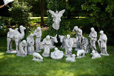 18-piece Large NATIVITY SET religious christmas outdoor