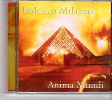 (FH486) Federico Milanesi, Anima Mundi - 2013 CD