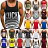 Bodybuilding Men Gym Vest Hooded Tank Top Muscle Workout Stringer Casual T-Shirt