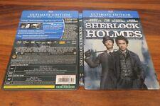 SHERLOCK HOLMES   -  ULTIMATE EDITION   -- BLU RAY + DVD