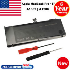 "Battery for Apple MacBook Pro Unibody 15"" inch i7 A1382 A1286 Early 2011 2012 PC"