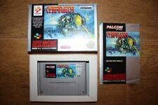 Jeu Cybernator pour console Super Nintendo SNES en boite complet