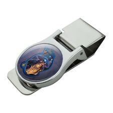 Farscape Moya's Pilot Satin Chrome Plated Metal Money Clip
