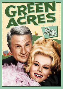 Green Acres The Complete Series Season 1 2 3 4 5 6 (Eddie Albert Eva Gabor) DVD