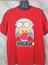 Family Guy Stewie Mens T-Shirt XXL Cotton Red                               C45