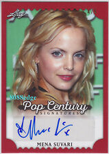 "2016 Pop Century Auto: Mena Suvari #4/5 Autograph""Six Feet Under/Badge Of Honor"""