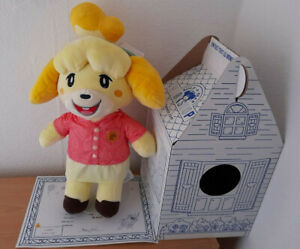 BUILD A BEAR ANIMAL CROSSING NEW HORIZONS ISABELLE SUMMER GIFT BUNDLE + PHRASES