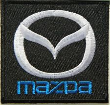 MAZDA Racing Car Logo Patch Sew Iron on Embroidered Jacket T-shirt Vest Badge