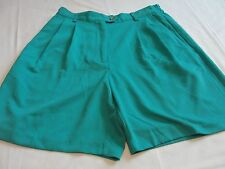 Nice Size 4 IZOD x-tra dry Teal Short Near Mint 100% Polyester Super Comfy