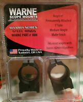 Warne Maxima Scope Bases for Kimber 8400 Rifles M887//841M
