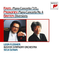 LEON FLEISHER-PIANO CONCERTO FOR LEFT HAND-RAVEL. PROKOFIEV...-JAPAN 2 CD D73