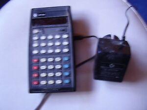 Taschenrechner Commodore SR 36 Calculator, Original , mit Ladegerät
