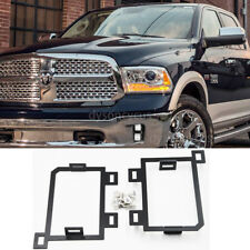 Fits 2013-2018 Dodge Ram 1500 Hidden Bumper Fog Light Mounting Bracket kits