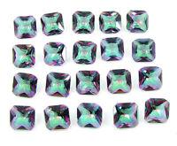 Details about  /77.40 Ct Natural Mystic Topaz 10 mm Princess Cut Loose Gemstone 20 Pc Lot 24950