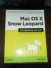 Mac OS X Snow - The Missing Manual TextBook
