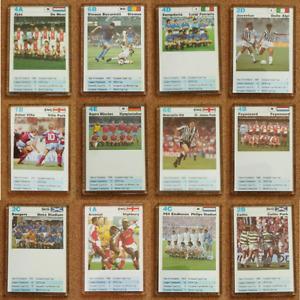 European Football Clubs Top Trumps Card Fridge Magnet – Various Countries Teams