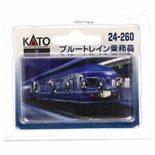 KATO 24-260 N Scale Gauge Diorama 6 personnages gare Characters Train Decoration