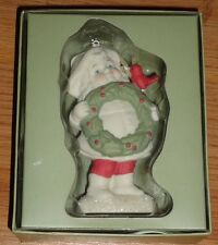 Dept. 56 Simple Traditions Holly Lane Porcelain Ornament 2002 Nib Child Cardinal