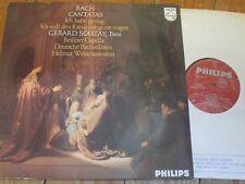 Sal 3767 Bach Cantatas/Souzay/Winschermann/beriner Capella, etc.