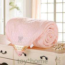 Natural/Mulberry Silk Comforter For Full Size Duvet/Blanket/Quilt Beige Filler