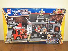 WWE C3 StackDown Hauler Building Set The Rock Daniel Bryan Mark Henry 21061*NEW*