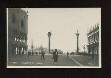 Italy VENEZIA Venice Piazzetta S.Marco c1920/30s? RP PPC