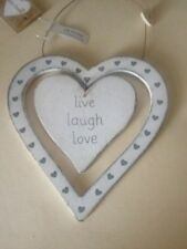Hearts & Love Wood Vintage/Retro Wall Hangings
