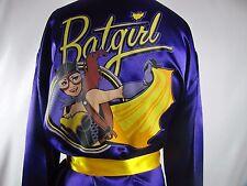 Batgirl Bombshells Collection Silky Satin Robe DC Comics Licensed Sleepwear