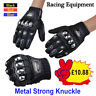 Alloy Steel Strong Knuckle Protection Motorbike Motorcycle Summer Gloves Racing