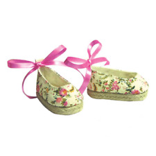 Floral Espadrilles Fits 18 inch American Girl Dolls