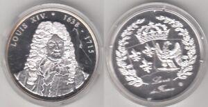 Médaille contemporaine Louis XVI Roi De France 1638-1715