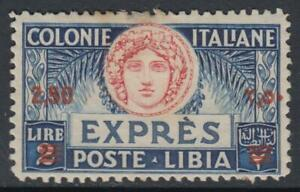 Italy Libia - Expr. n.13 cv 960$ SUPER CENTERED - BARGAIN  MH*