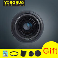 YONGNUO Yn35mm F2 Wide-angle AF Auto Focus EF Lens for Nikon Camera With Gifts