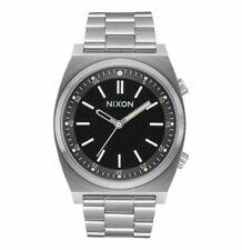 NEW Nixon Herrenuhr A1176-2474 Brigade Silver Silber Uhr Armbanduhr