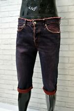 STONE ISLAND Bermuda Jeans Uomo Taglia 34 48 Pants Pantalone Corto Shorts