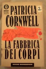 """DALLA MIA COLLEZIONE PATRICIA CORNWELL  : """" LA FABBRICA DEI CORPI"""" 1997"""