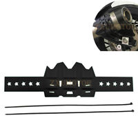 ZAIXU Motorcycle Exhaust Anti-hot Pipe Guard Heat Shield Cover Muffler Protector