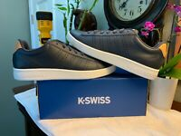 K SWISS Low OMBRE Blue/BISCUIT Brown/White Men's Shoes Size 10 BRAND NEW + BOX