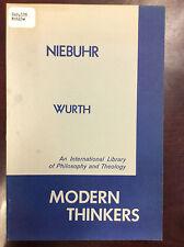 NIEBUHR By H. Brillenburg Wurth - 1960