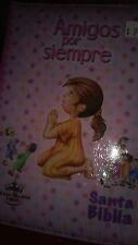 Biblia RVR 1960 Amigos por Siempre- Acolchada Rosa con Cierre Imitation Leather